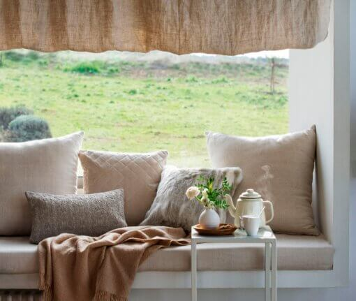 Cojines decorativos para sofá
